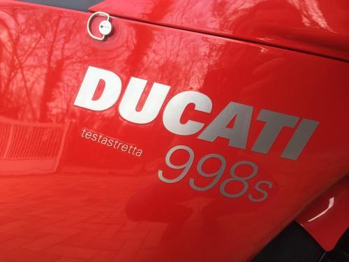 Ducati 998 s testastretta